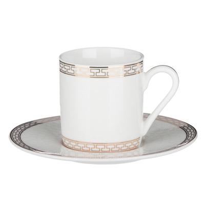 MILLIMI Ностальжи Набор кофейный 4пр., 100мл, 12,5см, костяной фарфор - 1