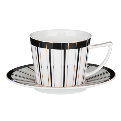 MILLIMI Король Набор чайный 12 пр., 250мл, 15см, костяной фарфор - 1