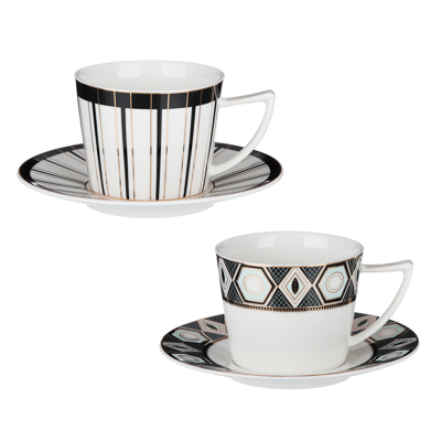 MILLIMI Король Артур Набор чайный 2 пр., 250мл, 15см, костяной фарфор, 2 дизайна - 1