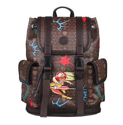 Рюкзак молодежный BY «Заря», 44х34,5х12,5 см, экокожа, 1 отделение, 2 кармана - 1