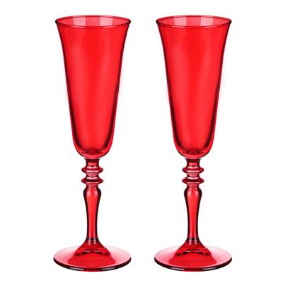 Шотландка Набор бокалов 2 шт для шампанского 190мл - 1