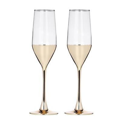 Пряничный домик Набор бокалов 2шт для шампанского, 160мл - 1