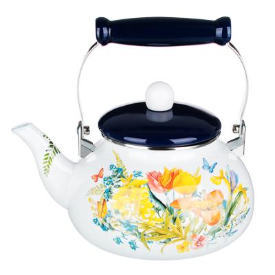 VETTA Ирисы Чайник эмалированный 2,5л - 1