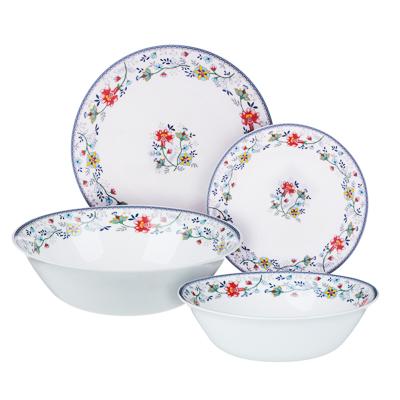 MILLIMI Виола Набор столовой посуды 13 пр., опаловое стекло, 21001 - 1