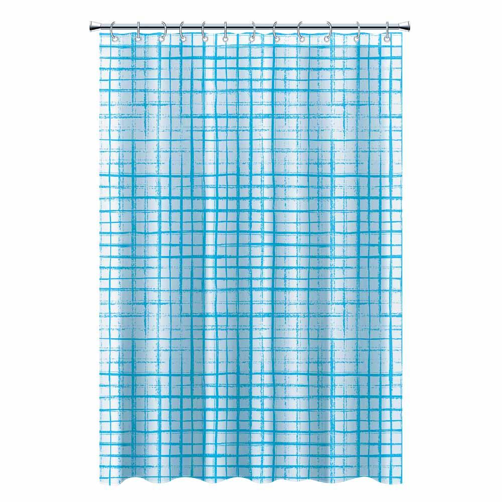 """VETTA Шторка для ванной, ПЕВА, 180x180см, """"Дождь"""", 3 цвета - 2"""
