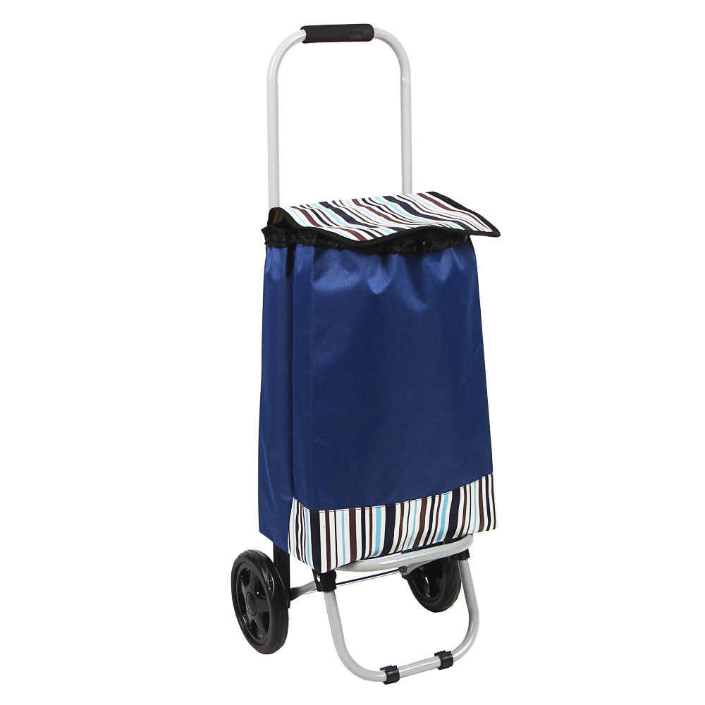 VETTA Тележка + сумка, грузоподъемность до 15кг, брезент, ЭВА, 32х22х86см, колесо d15см, HT-196-A - 2