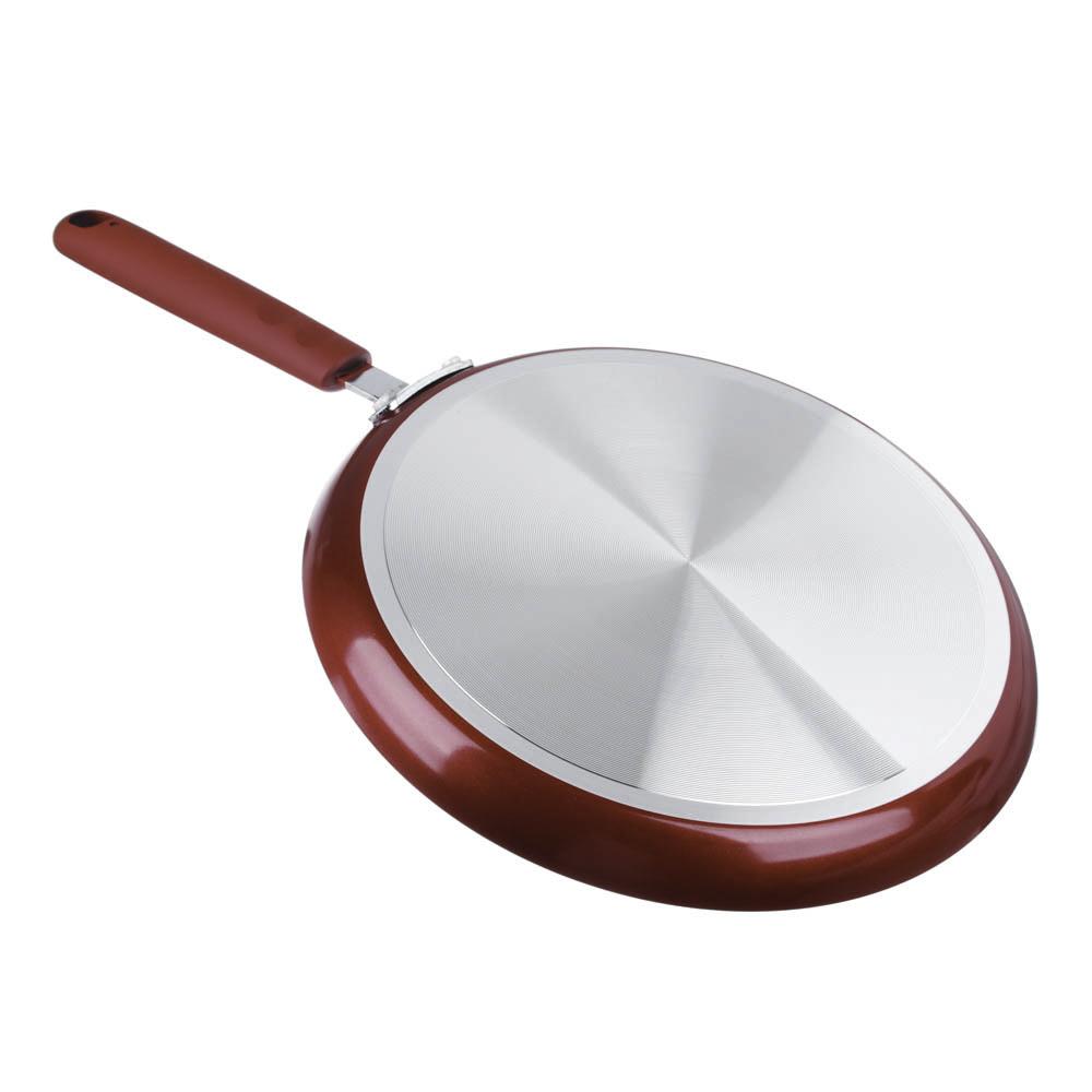 """Сковорода блинная, антипригарное покрытие, d25 см, SATOSHI """"Редс"""" - 2"""