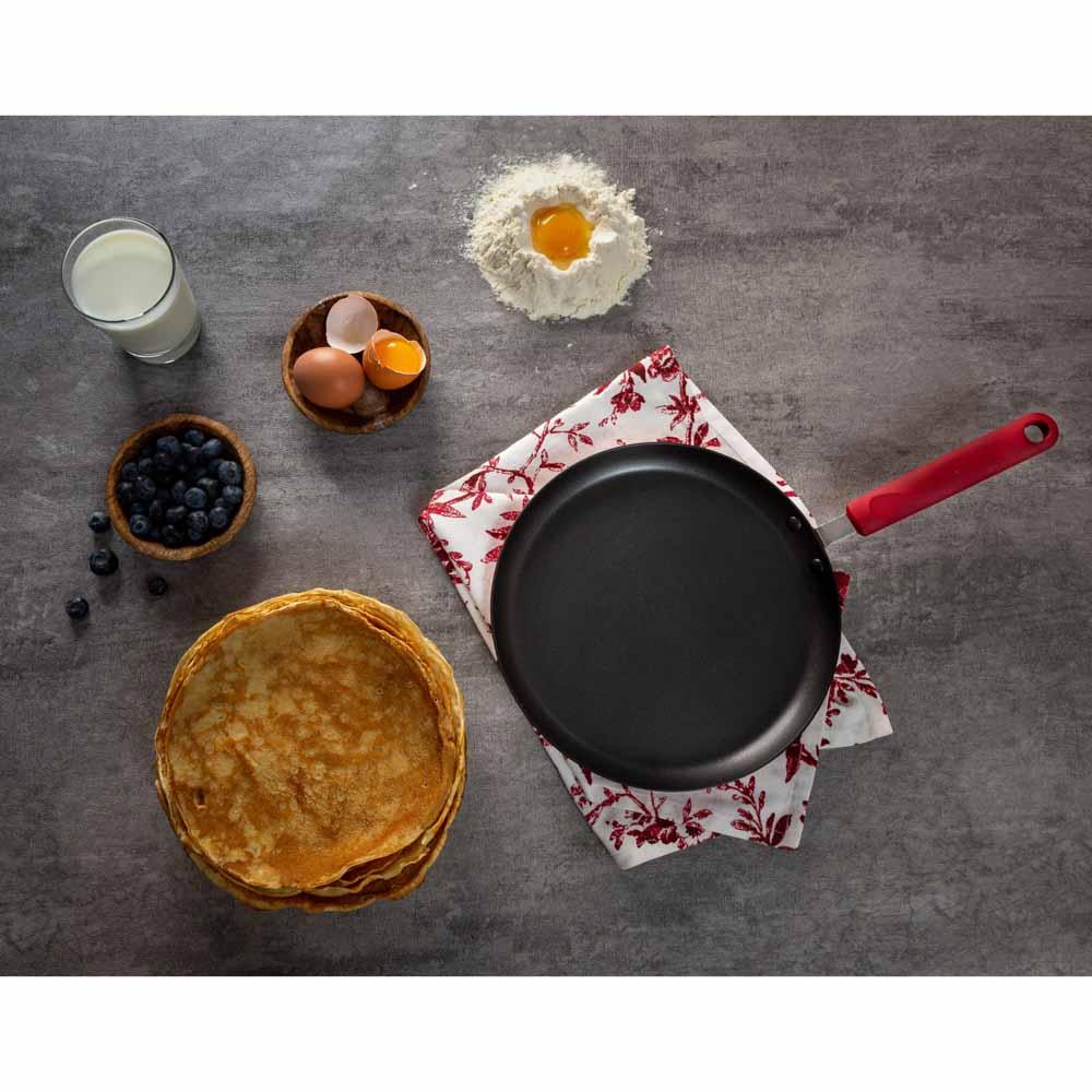 """Сковорода блинная, антипригарное покрытие, d25 см, SATOSHI """"Редс"""" - 6"""