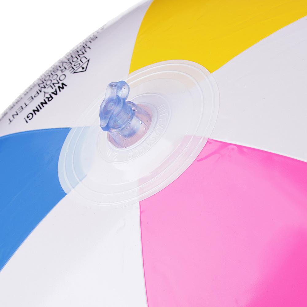 Надувной мяч INTEX 59030 Дольки d. 61 см - 2