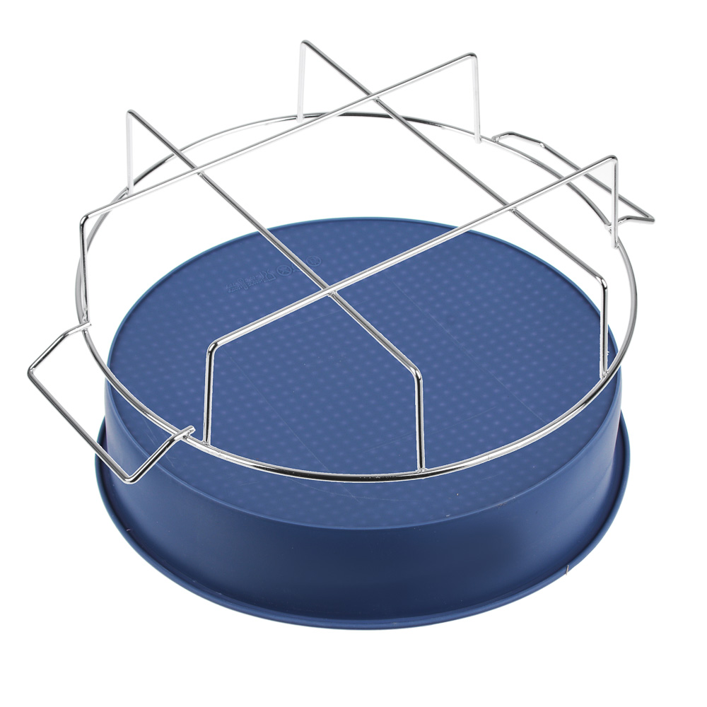 Форма для выпечки на подставке силикон, 25x6 см, силикон - 3