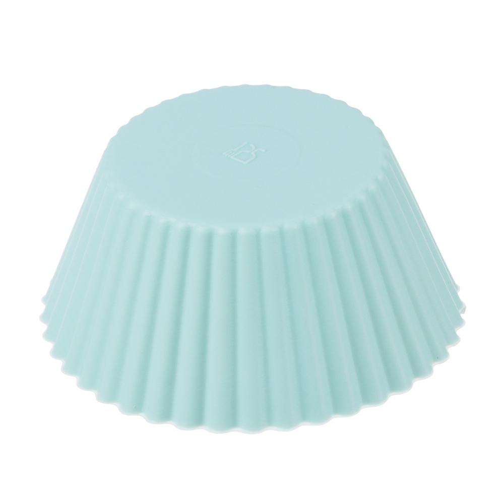 Набор форм для выпечки VETTA Кекс, 16 шт, 6.5x3,3 см, силикон - 3