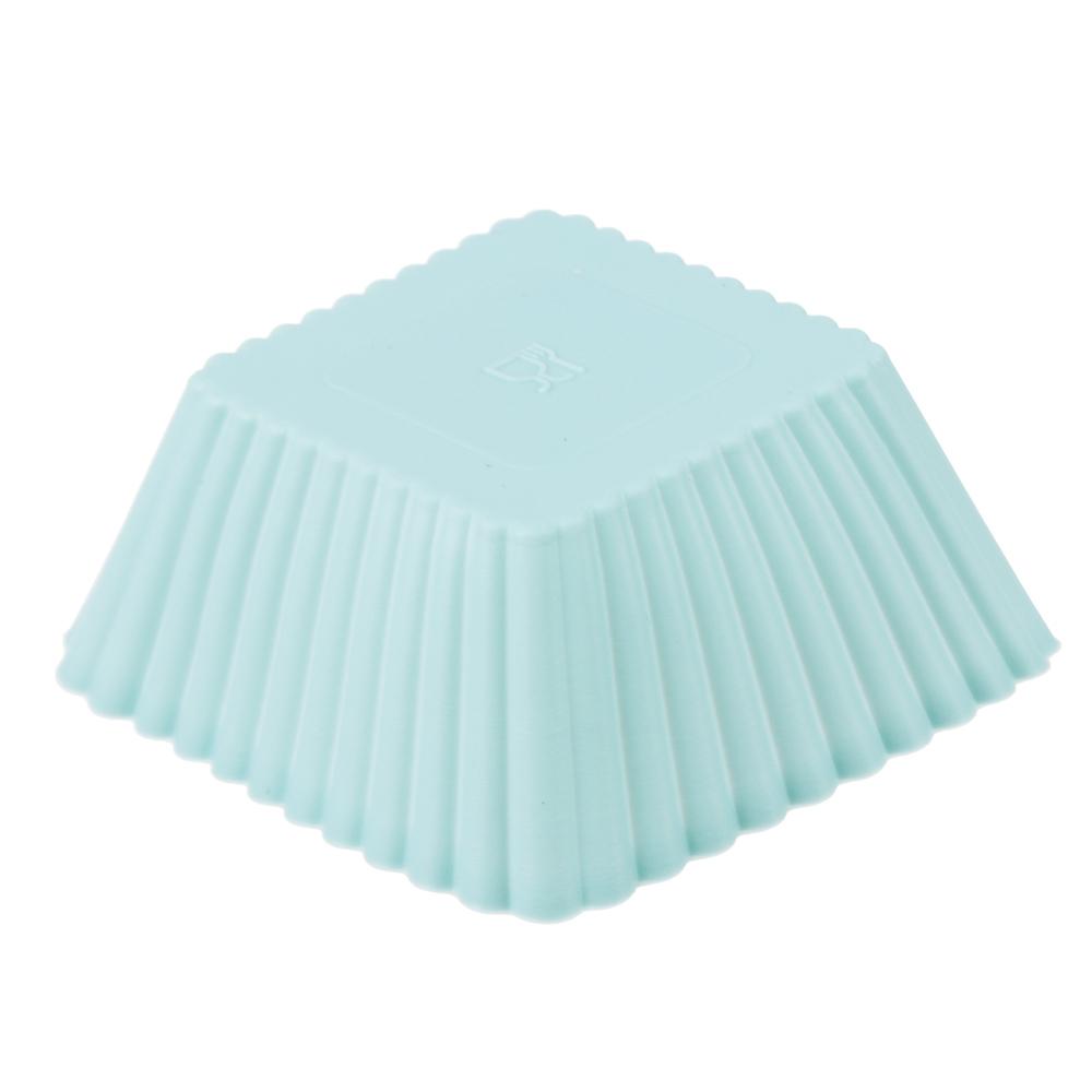 Набор форм для выпечки VETTA Кекс, 16 шт, 7х3 см, силикон - 3