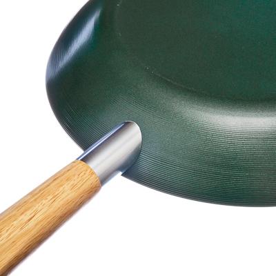 SATOSHI Organica Сковорода с керамическим покрытием d24см, индукция, G1624CSR - 8