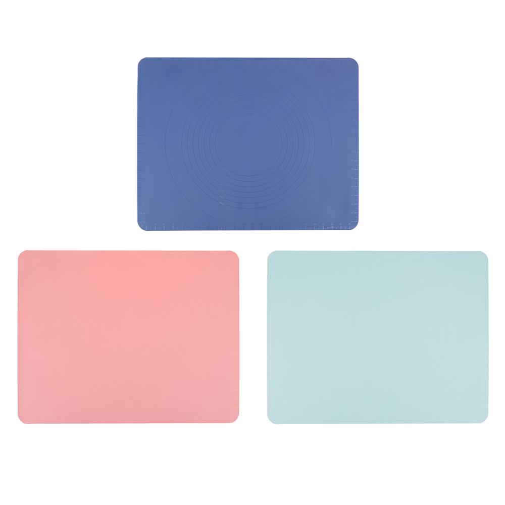 Коврик силиконовый для раскатки теста VETTA, 50х40 см, 3 цвета - 2