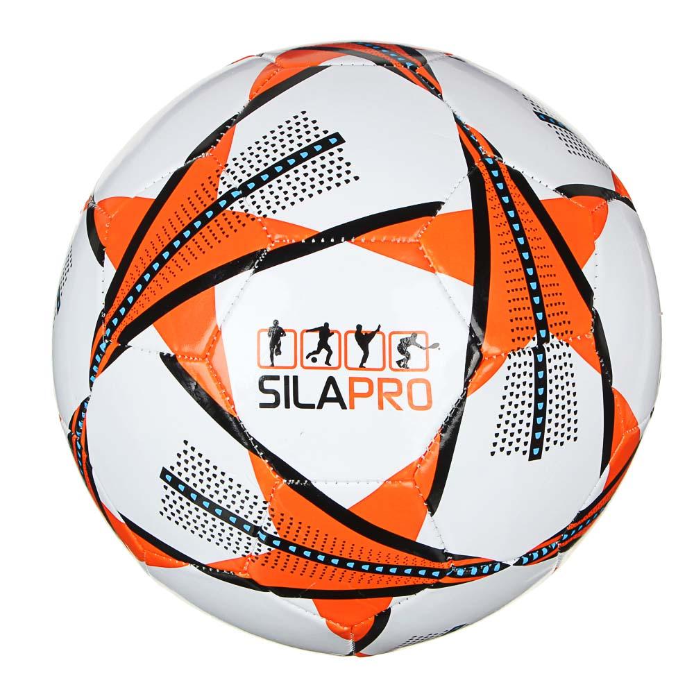 Мяч футбольный, 2 сл, размер 5, 22 см, PVC, 3 цвета, арт. МК20001-3 - 2