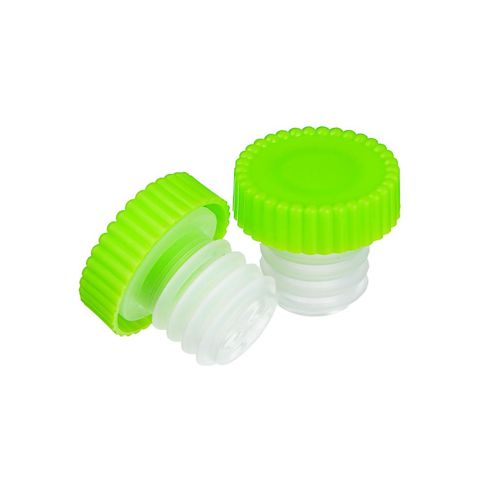 Набор пробок для бутылки 6 шт, пластик, 2,5х2,5 см - 2