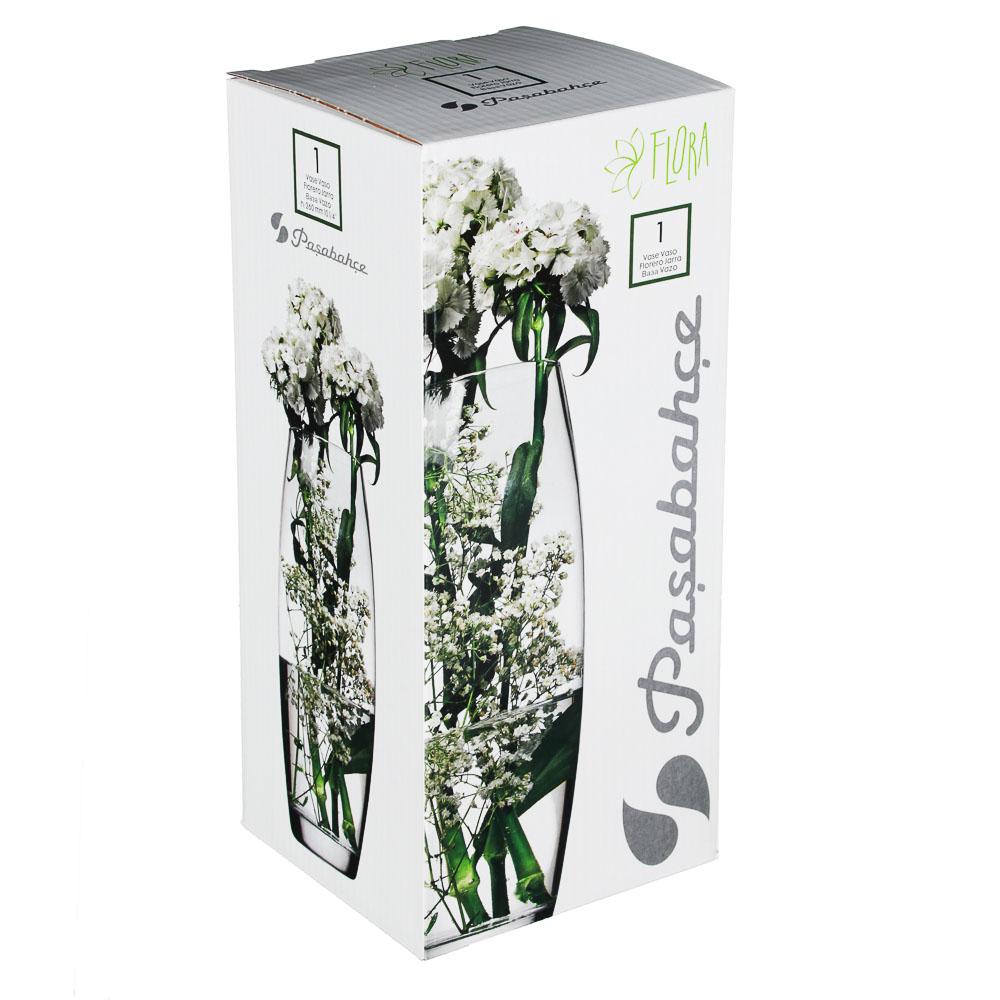 """Pasabahce ваза для цветов стеклянная h-26 см, """"flora"""" - 2"""