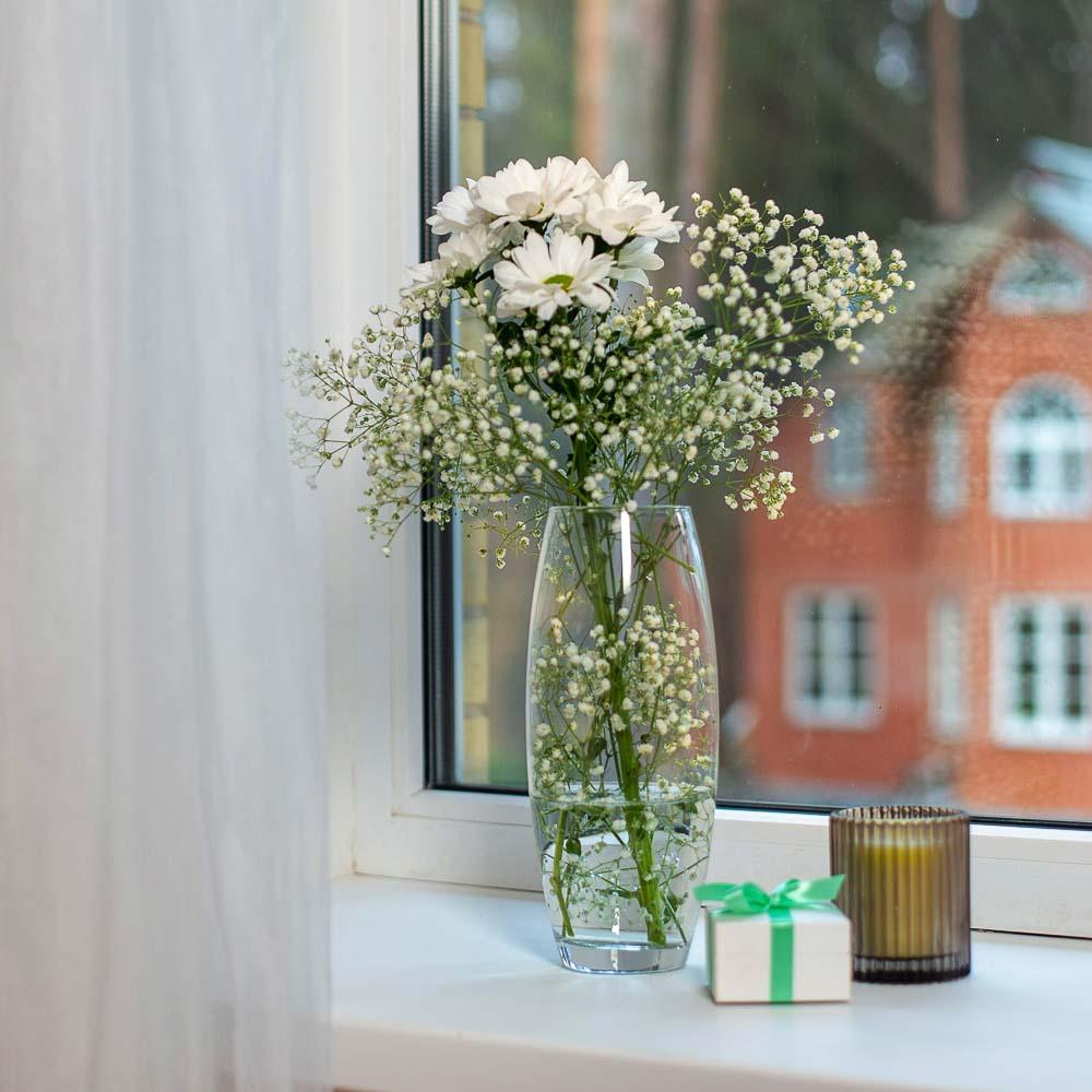 """Pasabahce ваза для цветов стеклянная h-26 см, """"flora"""" - 3"""