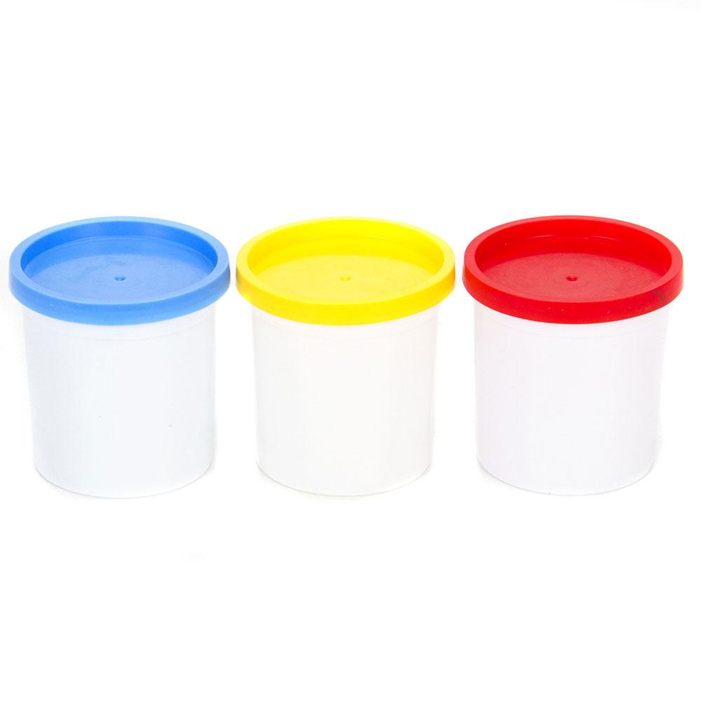 МЕШОК ПОДАРКОВ Набор теста на растительной основе 3 банки x 100г, 3 цвета - 2