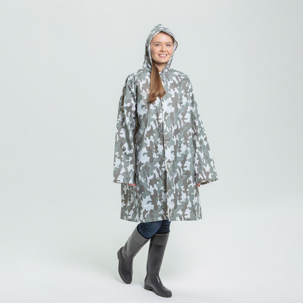 Дождевик-плащ, ЭВА, 80 мкр., 100х70 см, INBLOOM - 2