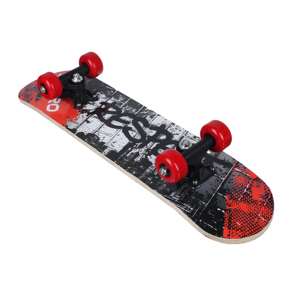 Скейтборд, 61х15 см, Р241-243, пласт.крепеж, 5030 PVC, макс.нагрузка 30 кг, SILAPRO - 4
