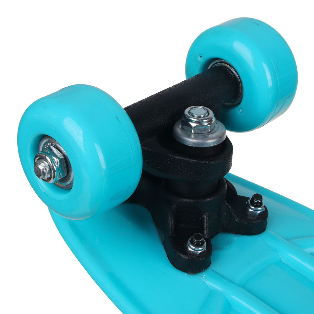 Скейтборд, 41х12 см, ABS пластик, пласт.крепеж, 5030 PVC 608Z, макс.нагрузка 30 кг, SILAPRO, 1705F - 5