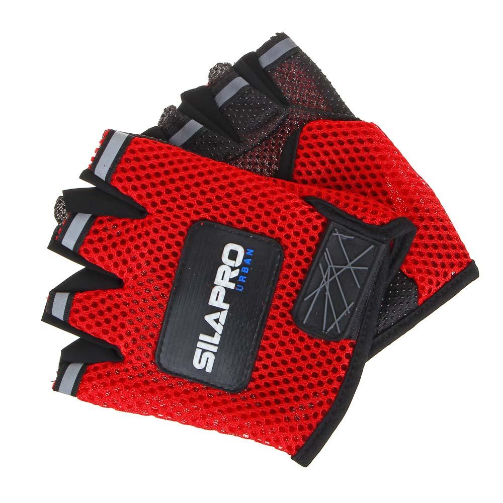 Перчатки для велосипеда и фитнеса, полиэстер, универсальный размер, 3 цвета, SILAPRO - 2