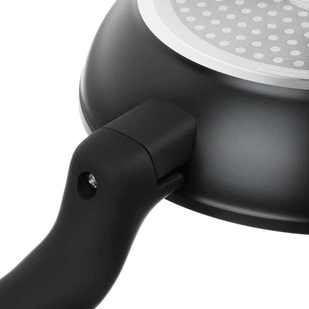 Сковорода литая d. 20 см SATOSHI Стоун, антипригарное покрытие, индукция - 6