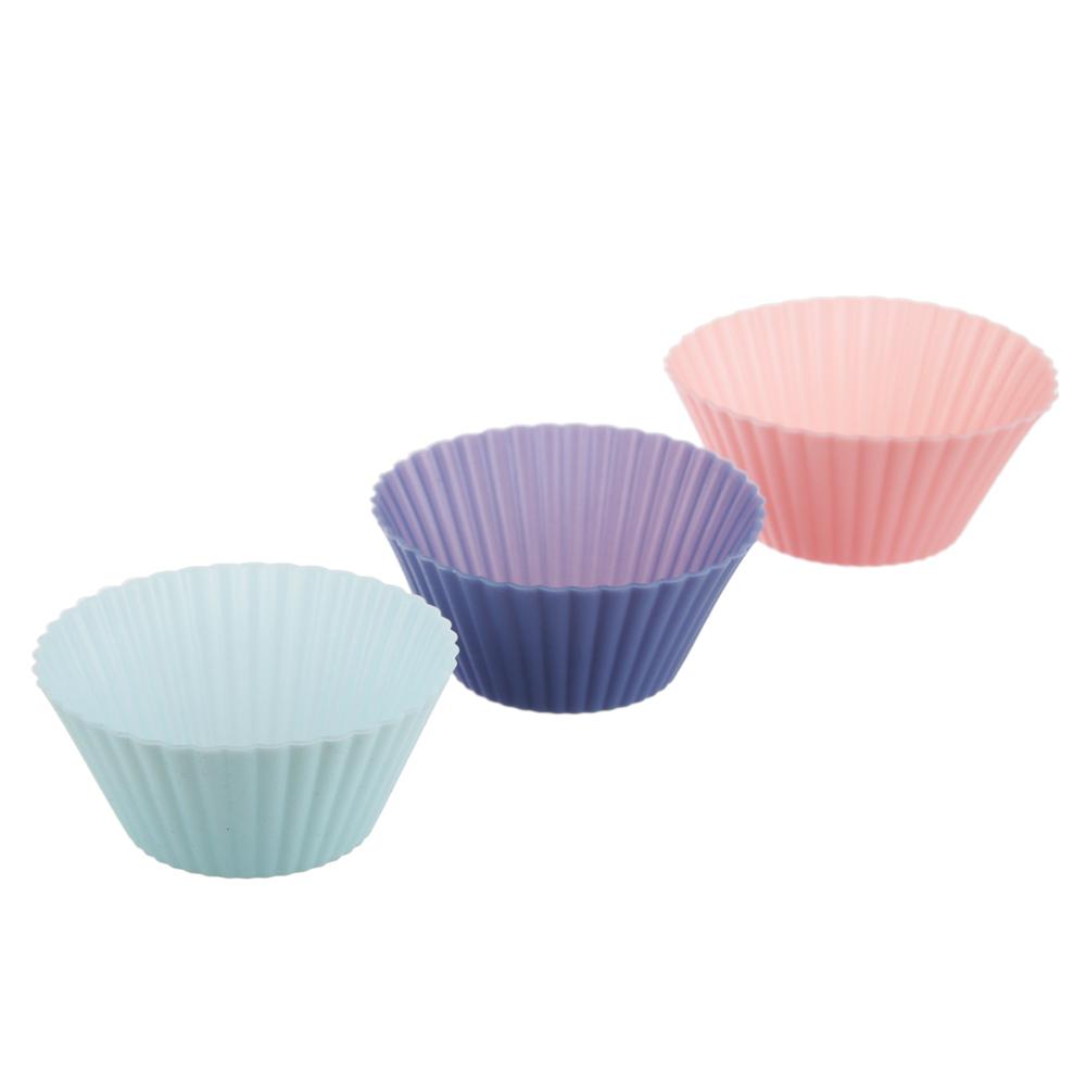 Набор форм для выпечки 5 шт, 7х3,5 см, силикон - 3