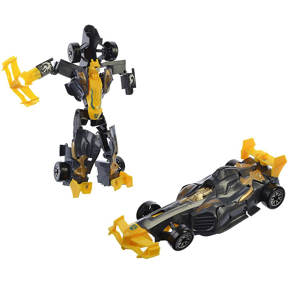 ИГРОЛЕНД Робот-машина, пластик, 16х6х5см, 4 дизайна, 608-2/3 - 2