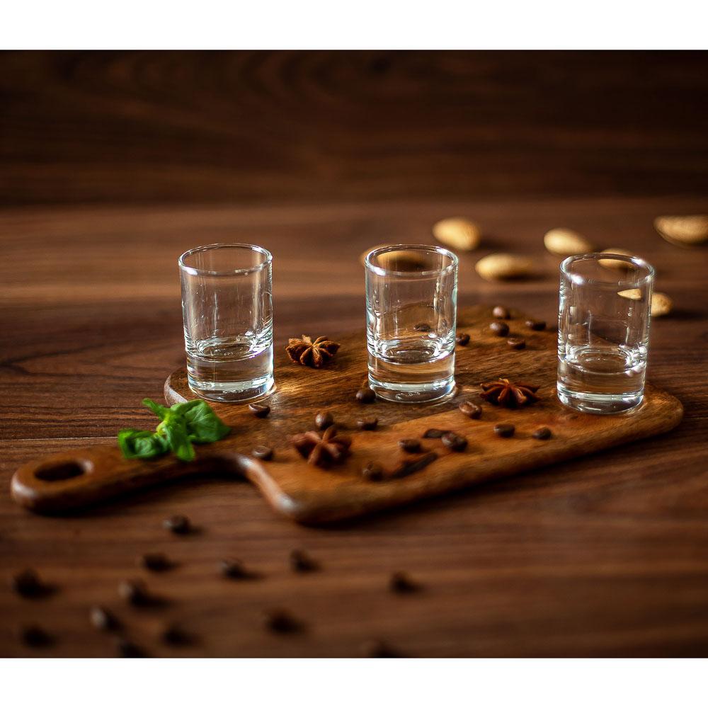 "Pasabahce набор рюмок для водки 6 шт, 60 мл, ""сиде"" - 5"