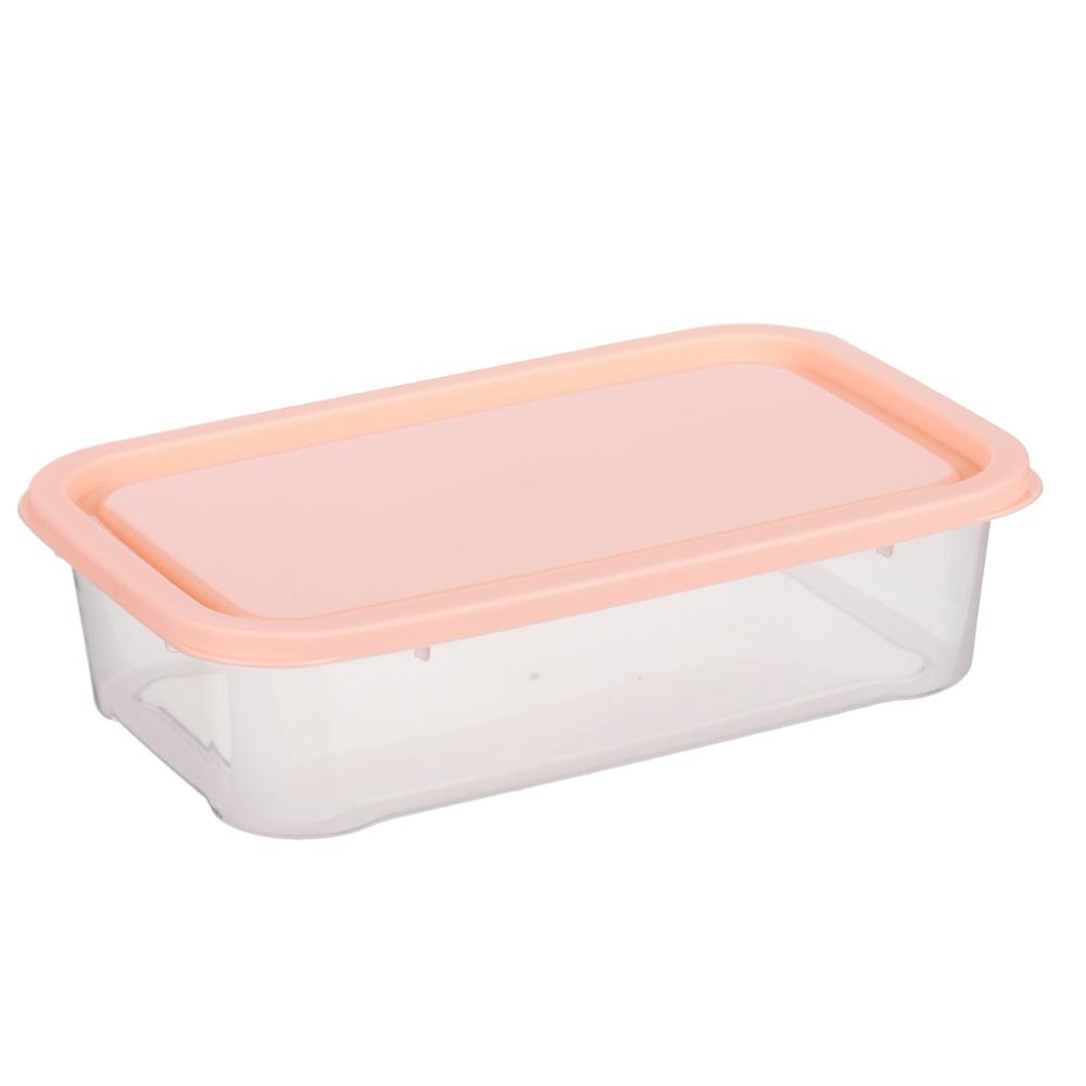 Набор контейнеров 3шт, 18,5x11,5x4,8см, пластик - 3
