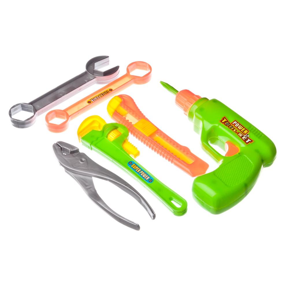 """Набор игровой """"Инструменты строительные"""", пластик, 15х19х3см, 2 дизайна, 326-639 - 3"""