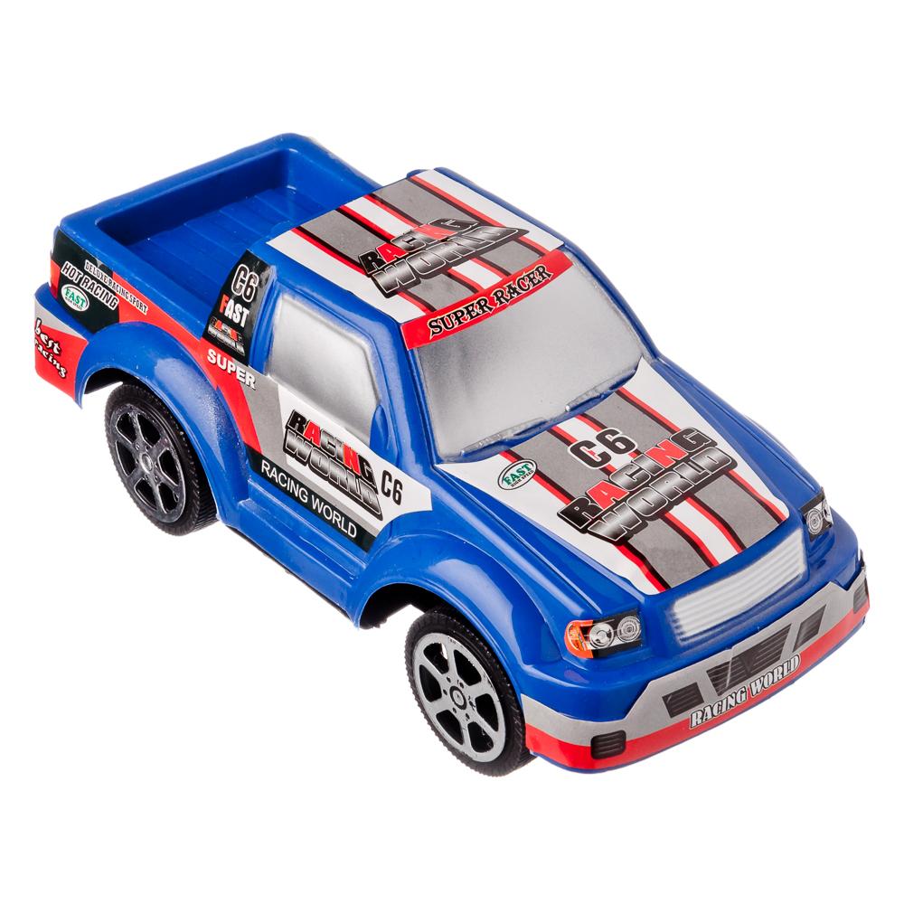 МЕШОК ПОДАРКОВ Машинка фрикционная в виде пикапа, пластик, 20х8х8см, 2 цвета - 3