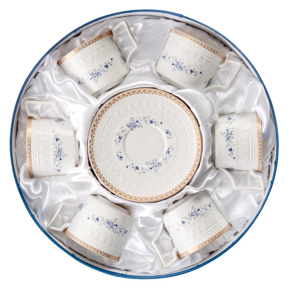 MILLIMI Джулия Набор чайный 12 пр., 300мл, костяной фарфор - 3