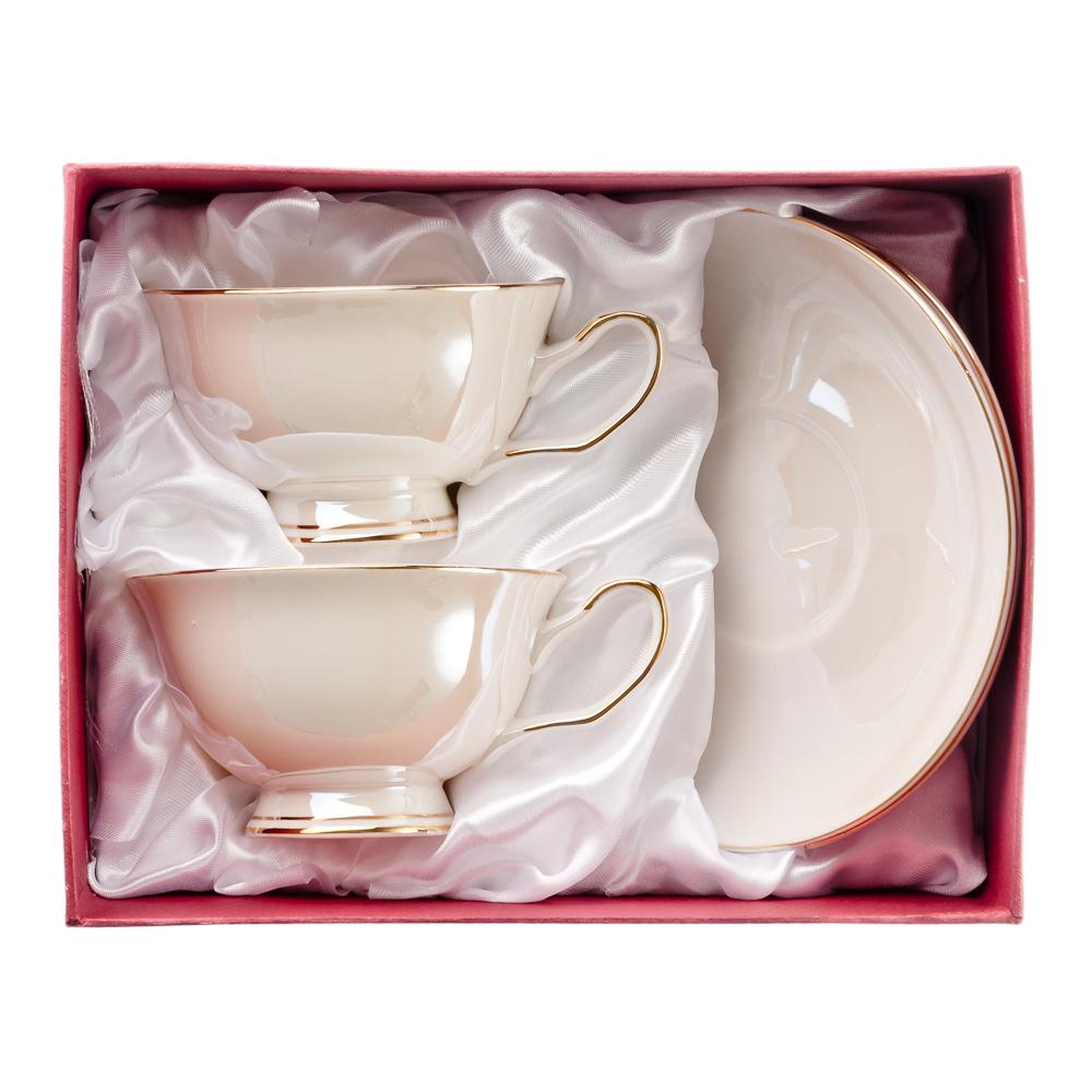 MILLIMI Глазурь Набор чайный 4 пр., 200мл, костяной фарфор - 3