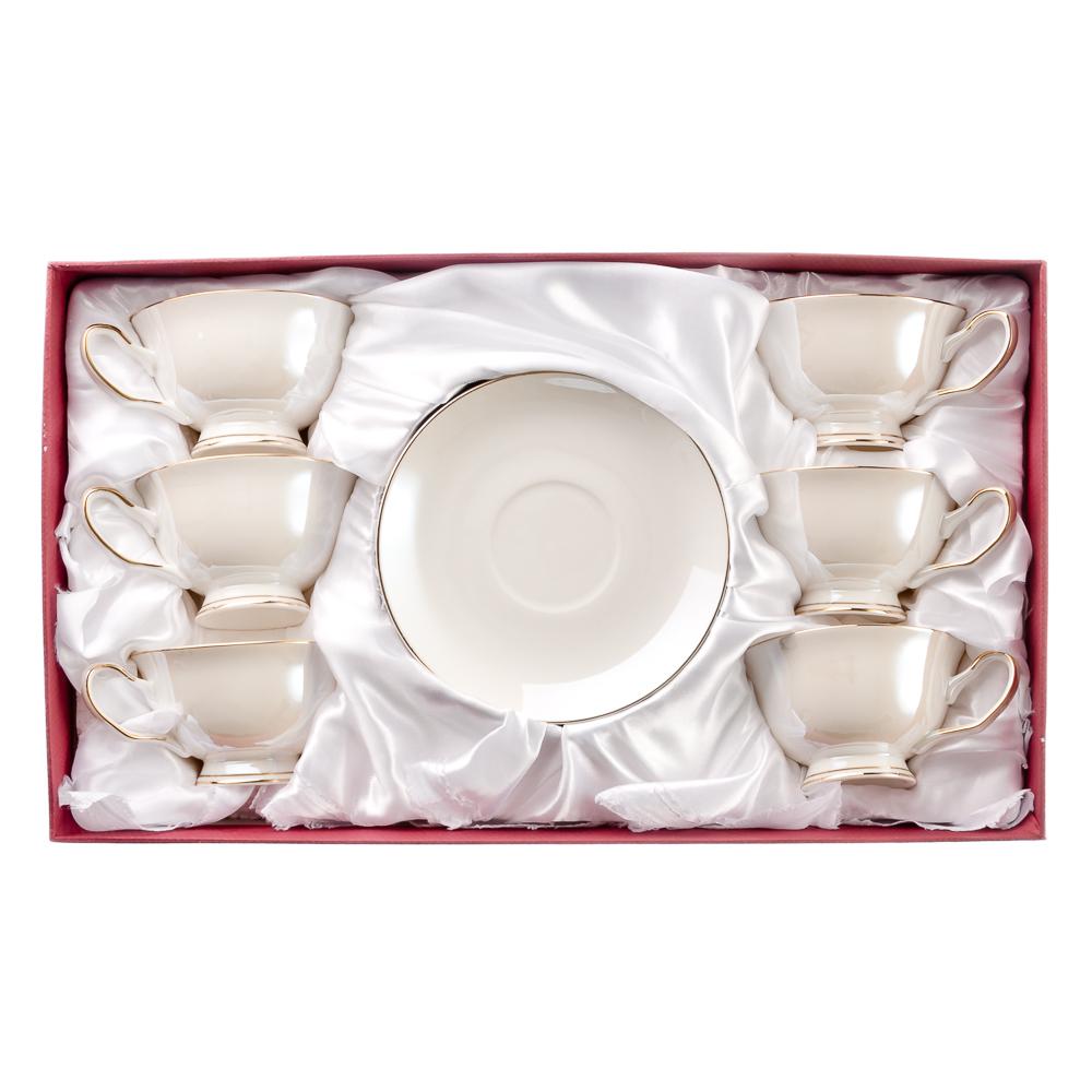 MILLIMI Глазурь Набор чайный 12 пр., 200мл, костяной фарфор - 3