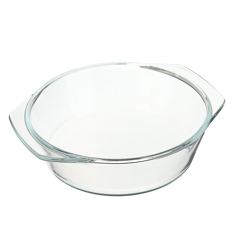 Кастрюля жаропрочная с крышкой 1,4 л SATOSHI, стекло - 3