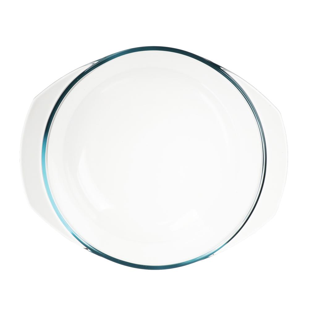 Кастрюля жаропрочная с крышкой 2.5 л SATOSHI, стекло - 3