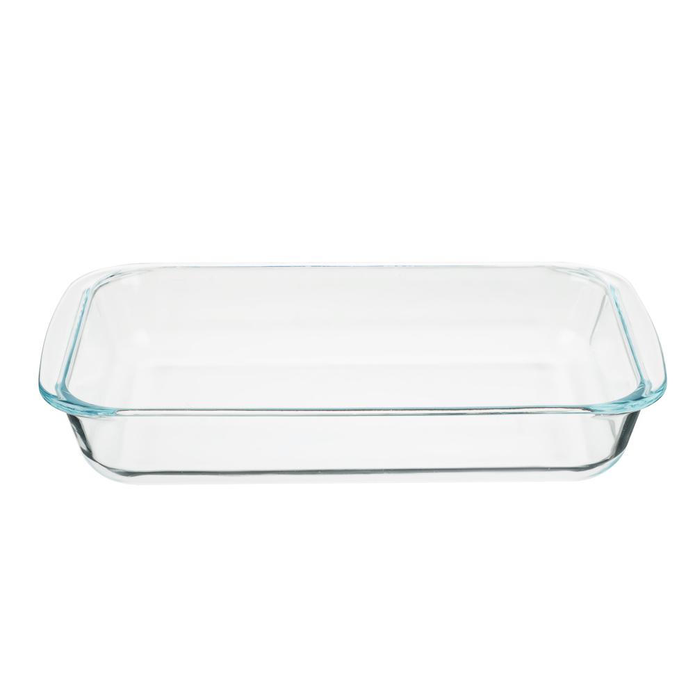 Форма для запекания жаропрочная 1,5 л SATOSHI, с ручками, стекло - 2