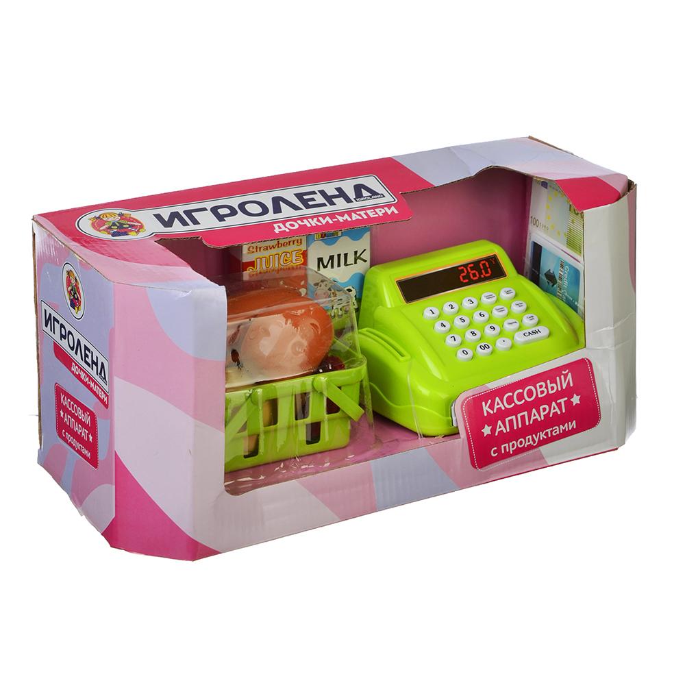 ИГРОЛЕНД Кассовый аппарат с овощами, свет/звук, пластик, 32,5х17,9х14см, 200062272 - 2