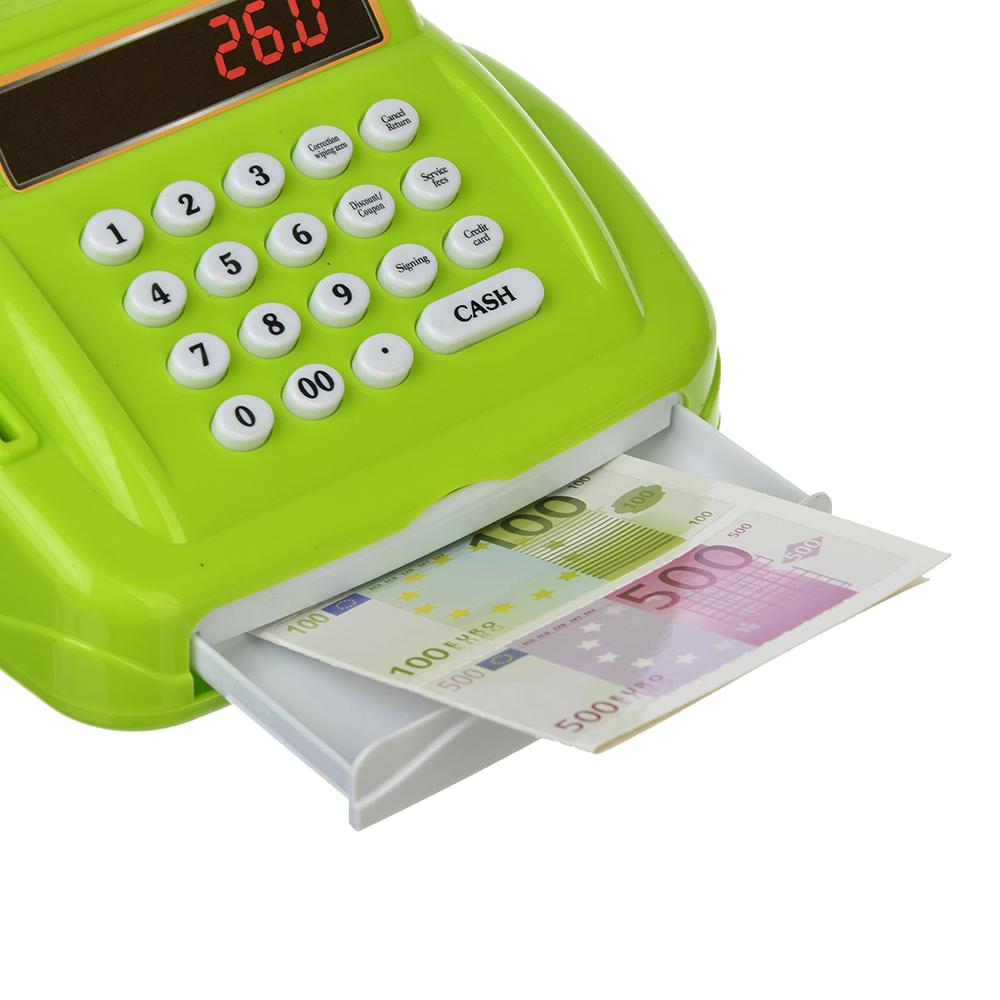 ИГРОЛЕНД Кассовый аппарат с овощами, свет/звук, пластик, 32,5х17,9х14см, 200062272 - 3