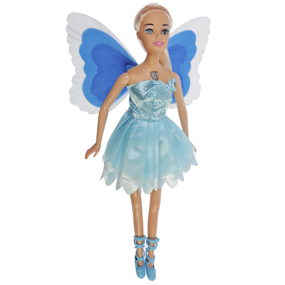 Кукла с крыльями, пластик, полиэстер, 29см, 6 дизайнов, BLD081/BLD081-1 - 2