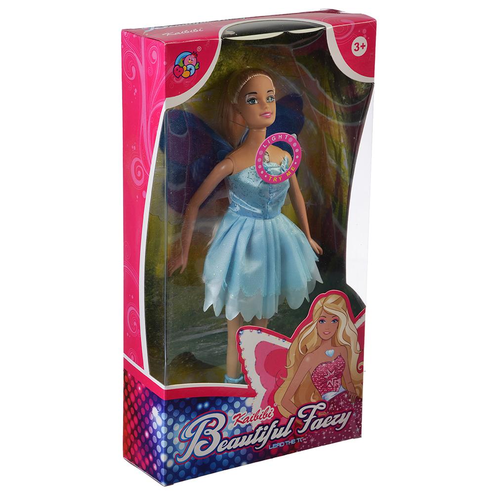 Кукла с крыльями, пластик, полиэстер, 29см, 6 дизайнов, BLD081/BLD081-1 - 3