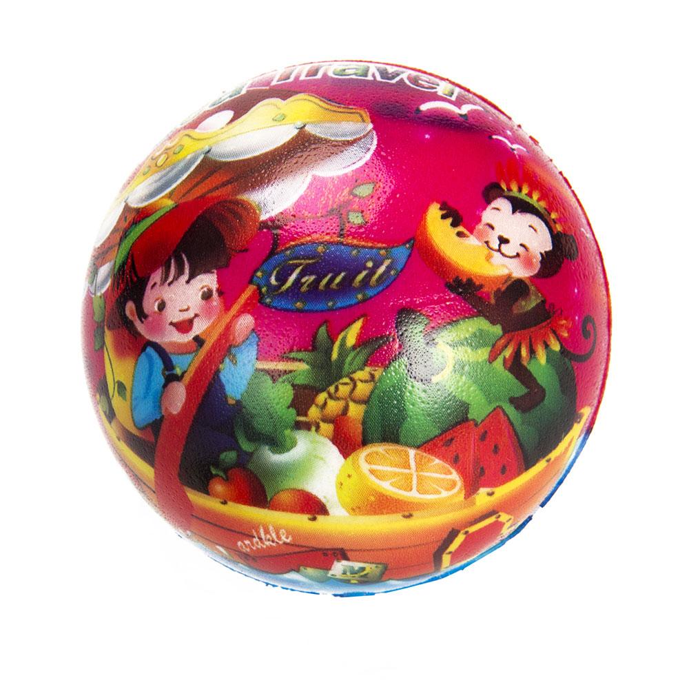 """Мяч """"Веселые животные"""", ПВХ, 6,3см, 2-5 дизайнов - 2"""