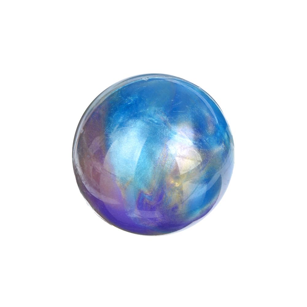 """LASTIKS Игрушка-лизун в баночке твердый """"Сфера"""", полимер, d4см, 3 цвета - 2"""