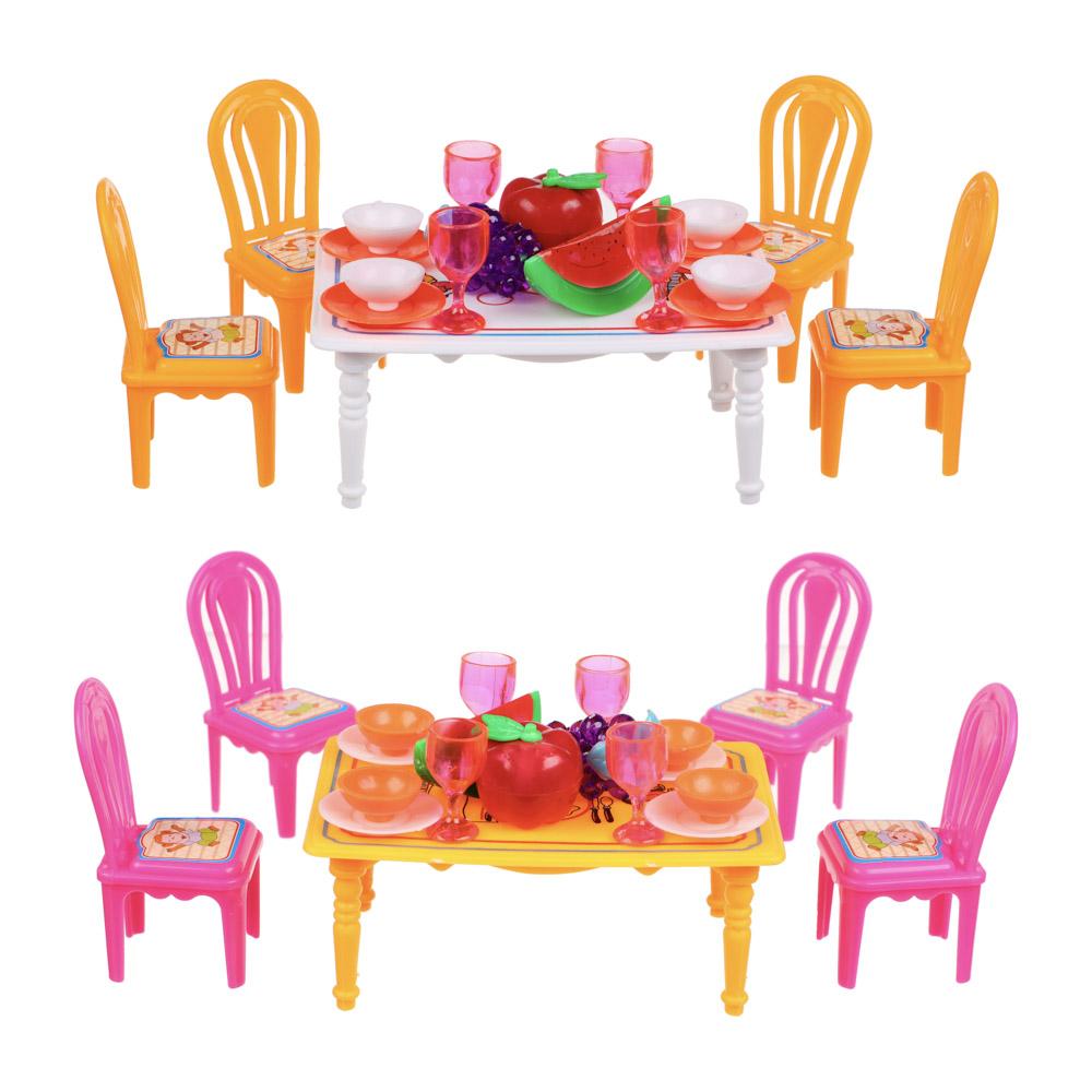 ИГРОЛЕНД Набор мебели и посуды для кукол, ABS, 13,5х11х10см, 967 - 2