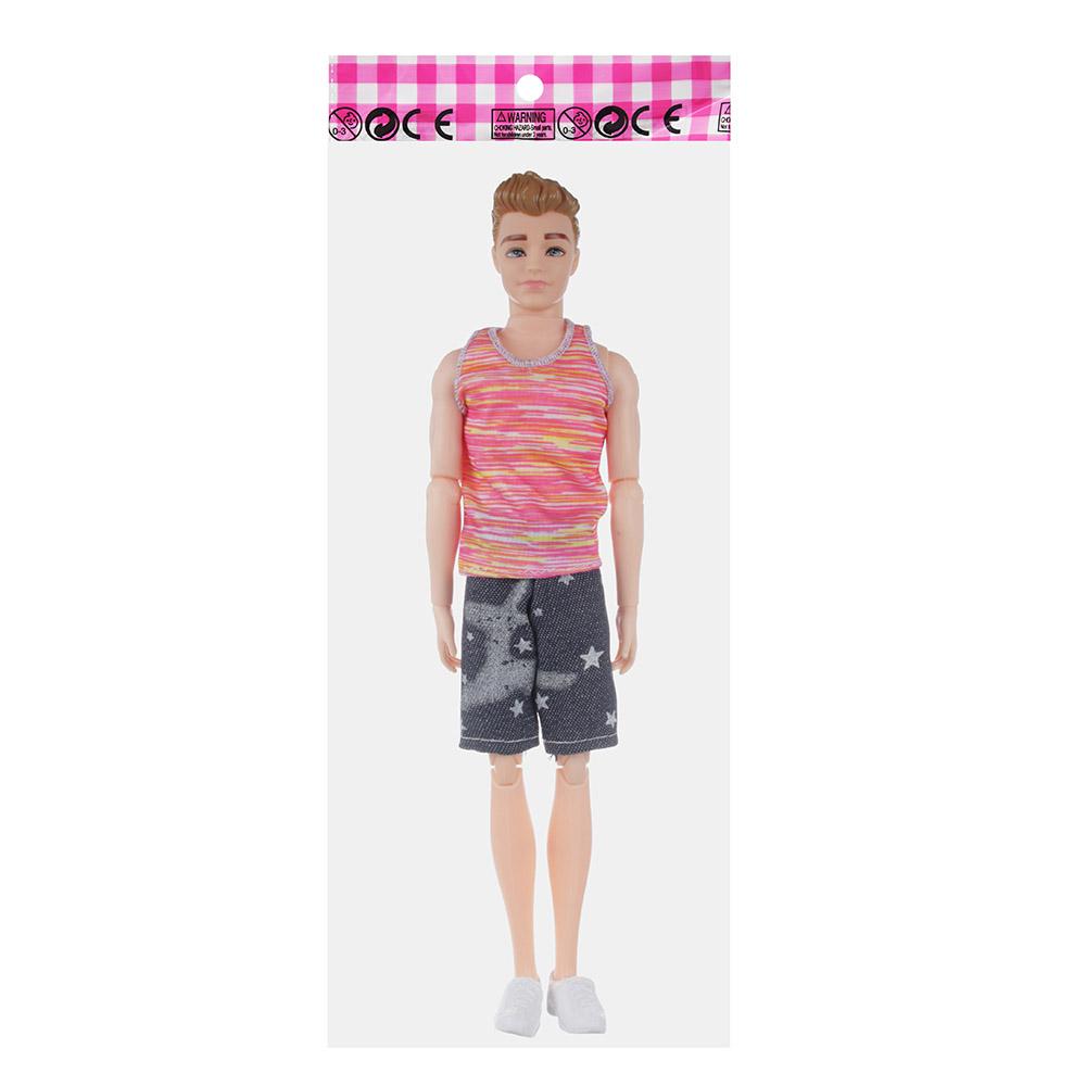 ИГРОЛЕНД Кукла-мальчик, PP,PVC, полиэстер, 29см, 4 дизайна, 99119 - 4