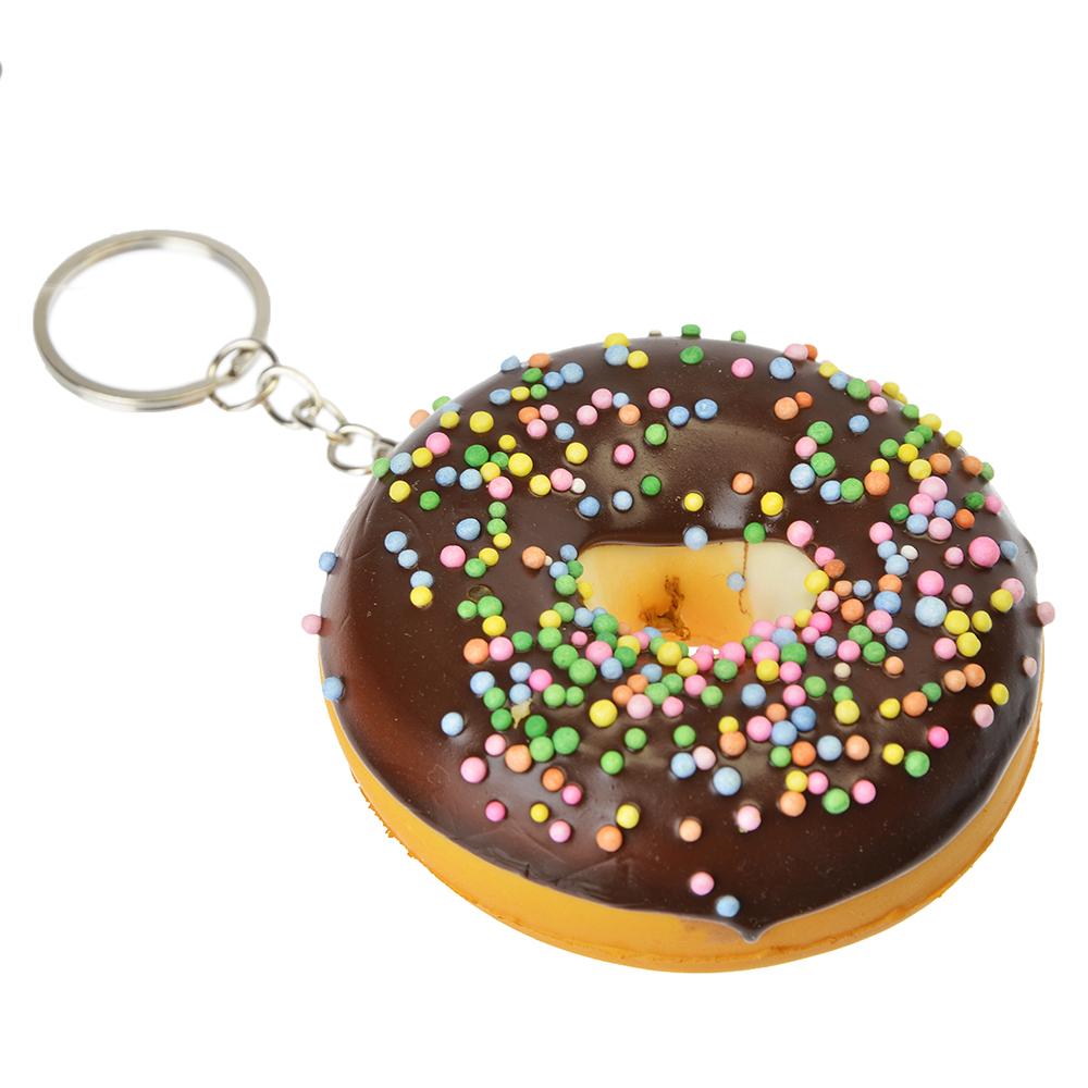 "Игрушка-мялка ""Пончик"", с ароматом, ПУ, металл, d7см, 4-6 цветов - 2"