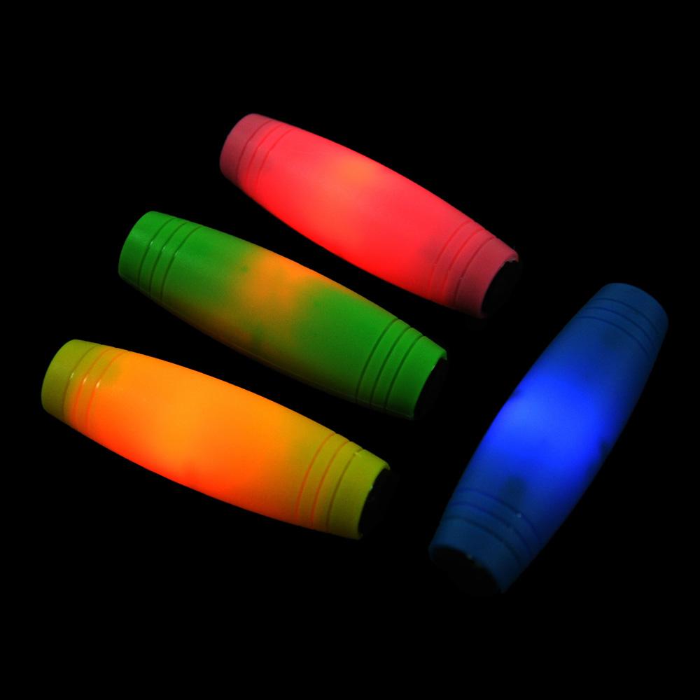"""Игрушка-антистресс """"Перевертыш"""", свет, пластик, ЭВА, 8,5см, 4 цвета - 3"""